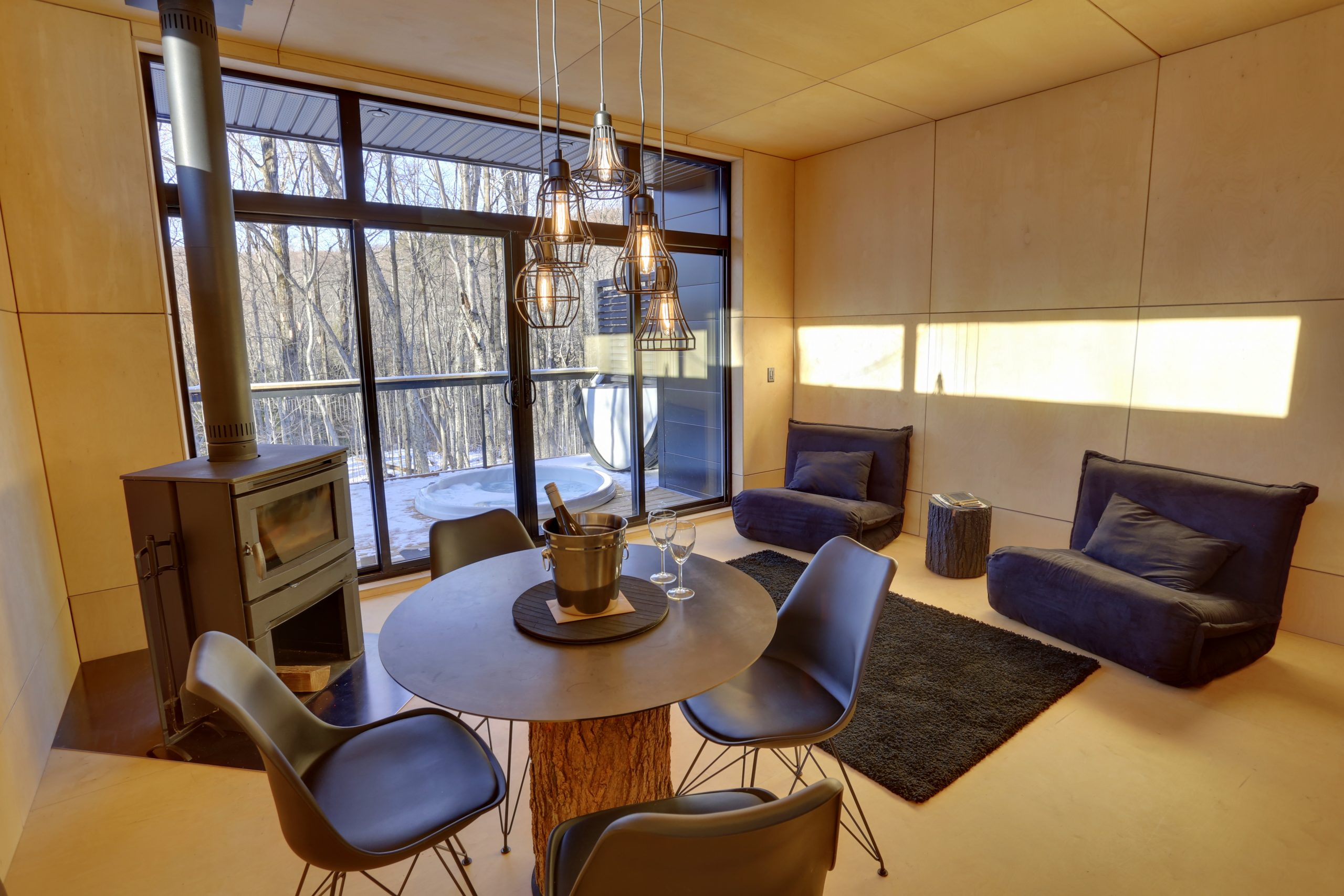 Cottages for rent for 4 people in Quebec #8