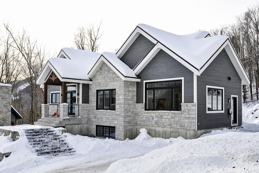 Ski in - ski out cottages for rent in Quebec #7